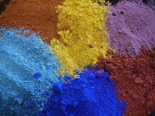 Fryty / barwniki ceramiczne