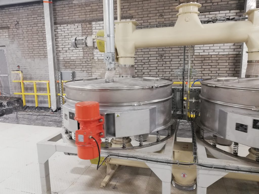 Safety screener - sifter