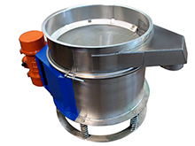 Vibrating sifters (safty screeners) for control sieving and fluid filtration